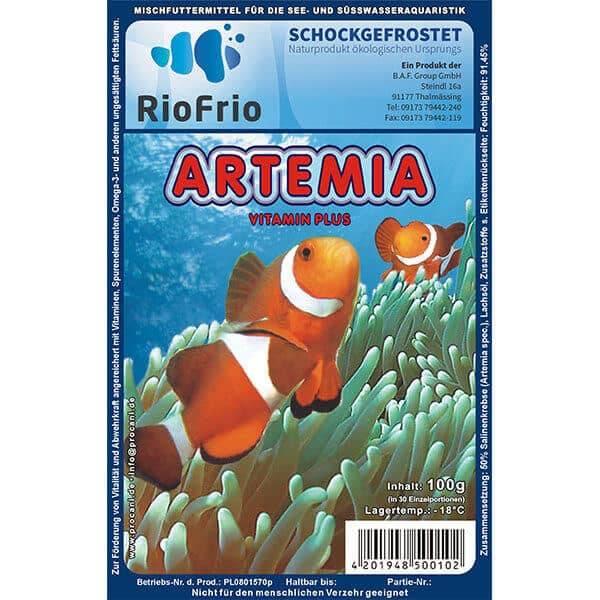 RioFrio natürliches Frostfutter für Aquaristik - Artemien Vitamin Plus