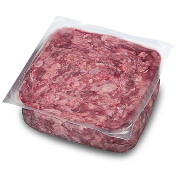BARF Frostfleisch für Hunde - 100% Muskelfleisch vom Rind