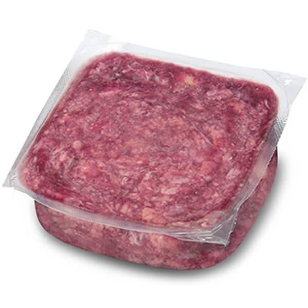 BARF Frostfleisch für Hunde - Rind-Geflügel-Knorpel-Mix