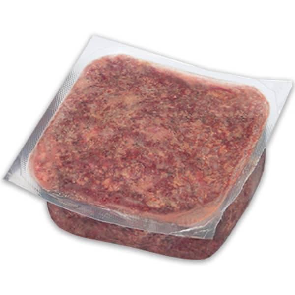 BARF Frostfleisch für Hunde - Züchter Mix vom Rind mit Pansen, Leber und Euter