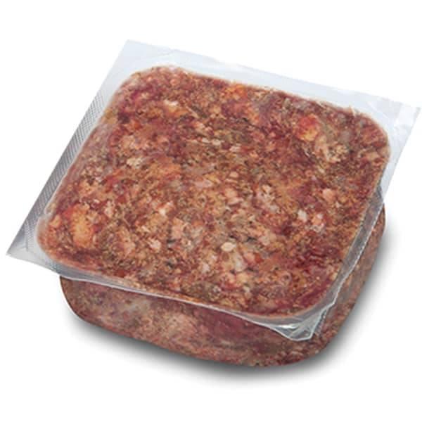 BARF Frostfleisch für Hunde - Rind Carnivor mit Organen, Pansen und weichen Knochen