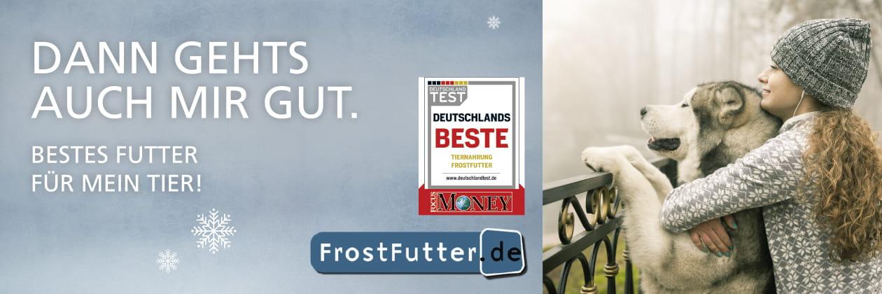 FrostFutter für Hunde und Katzen - Beste Tiernahrung