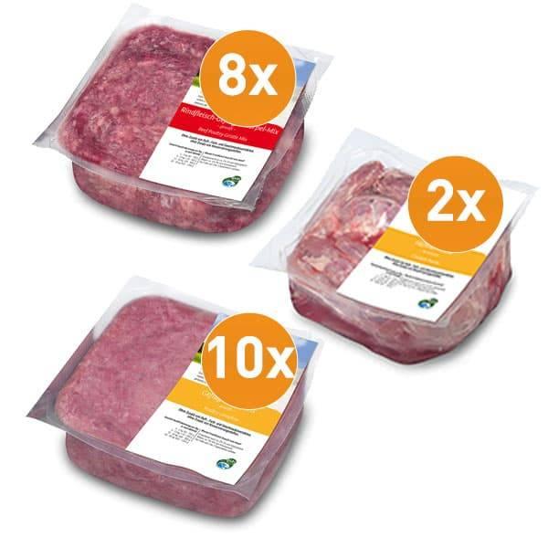 FrostFutter kalizumreiches Gelenk-Aktiv-Paket mit Hühnerhälsen und Geflügelkomplett