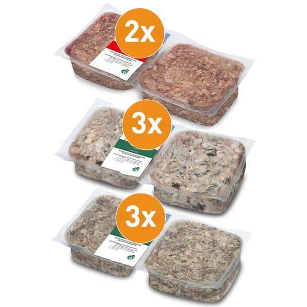 FrostFutter BARF Frostfleisch Paket - Ideal zur Unterstützung der Verdauung von Hunden