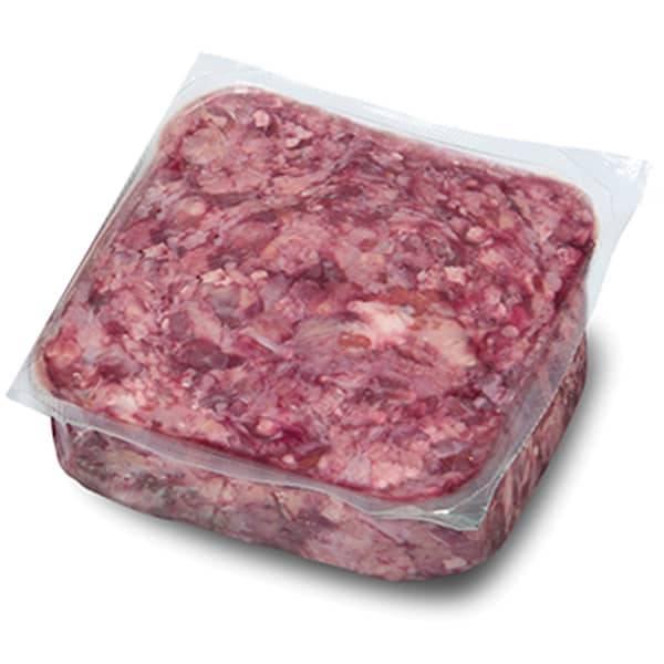 BARF Frostfleisch für Hunde - Saftiges Kopffleisch vom Rind